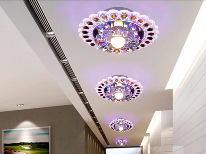 Colorpai 3 w modernas luces de techo led para dormitorio - Lampara de techo para dormitorio ...