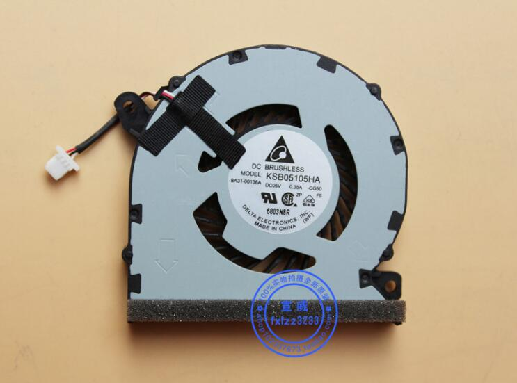 Delta Electronics KSB05105HA -CG50 Server Laptop Fan DC5V 0.35A 3-wire free shipping for delta afc0612db 9j10r dc 12v 0 45a 60x60x15mm 60mm 3 wire 3 pin connector server square fan