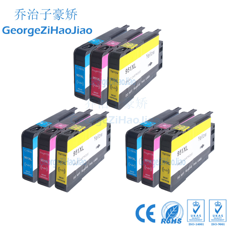 950XL 3XCMY Compatible For HP 950XL 950 Ink Cartridges Officejet Pro 8100 8600 8610 8615 8620 8625 251dw 276dw for HP950950XL 3XCMY Compatible For HP 950XL 950 Ink Cartridges Officejet Pro 8100 8600 8610 8615 8620 8625 251dw 276dw for HP950