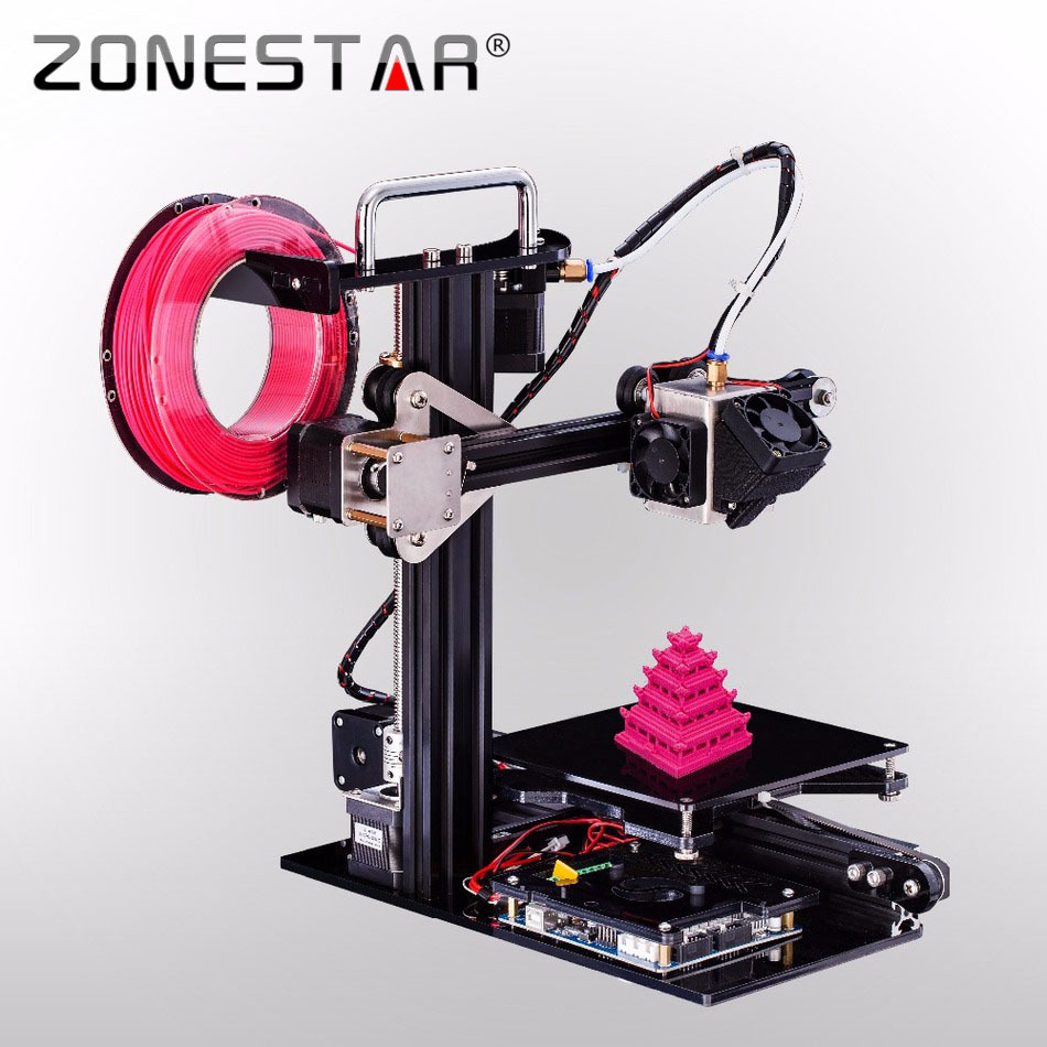 2016 Newest Fast Assemble Easy use High-Quality 3D Printer DIY Kit for Education&Personal for Children Teaching Free Shipping household personal desktop 3d printer mini education high precision rapid prototyping diy single nozzle