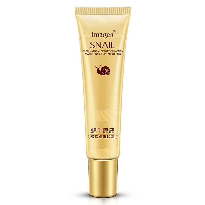 IMAGES Snail Eye Cream Whitening Moisturizing Anti-aging Wrinkle Remove Dark Circles Snail Cream