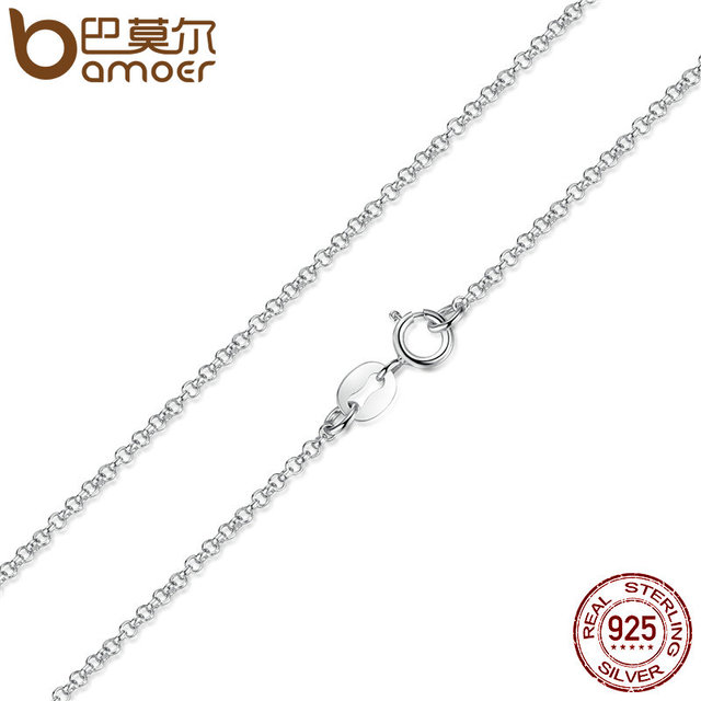 Sterling Silver Lobster Clasp Adjustable Necklace Chain