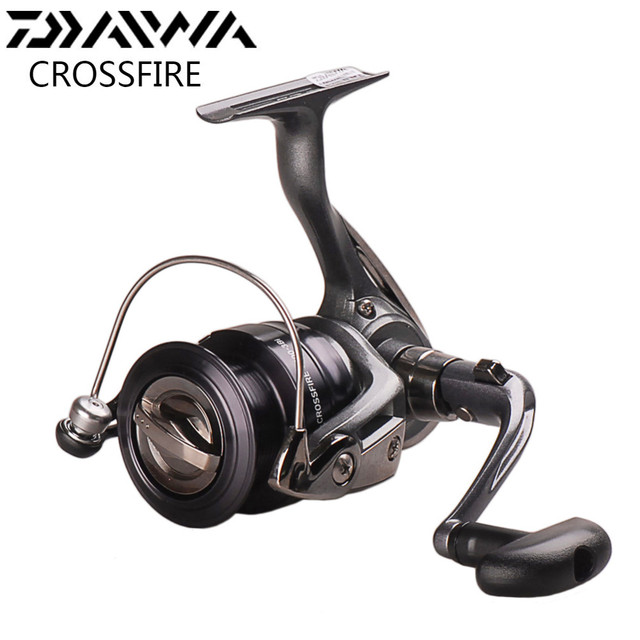 35fe2454ef6 DAIWA CROSSFIRE Spinning Fishing Reel 2500 3Bi 3000 3Bi 4000 3Bi 5.3 ...