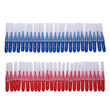 2.5MM 50Pcs/Set Brushing Teeth Crevice Between Toothbrush Cleaning Tool Care Dental Interdental Brush Beauty New