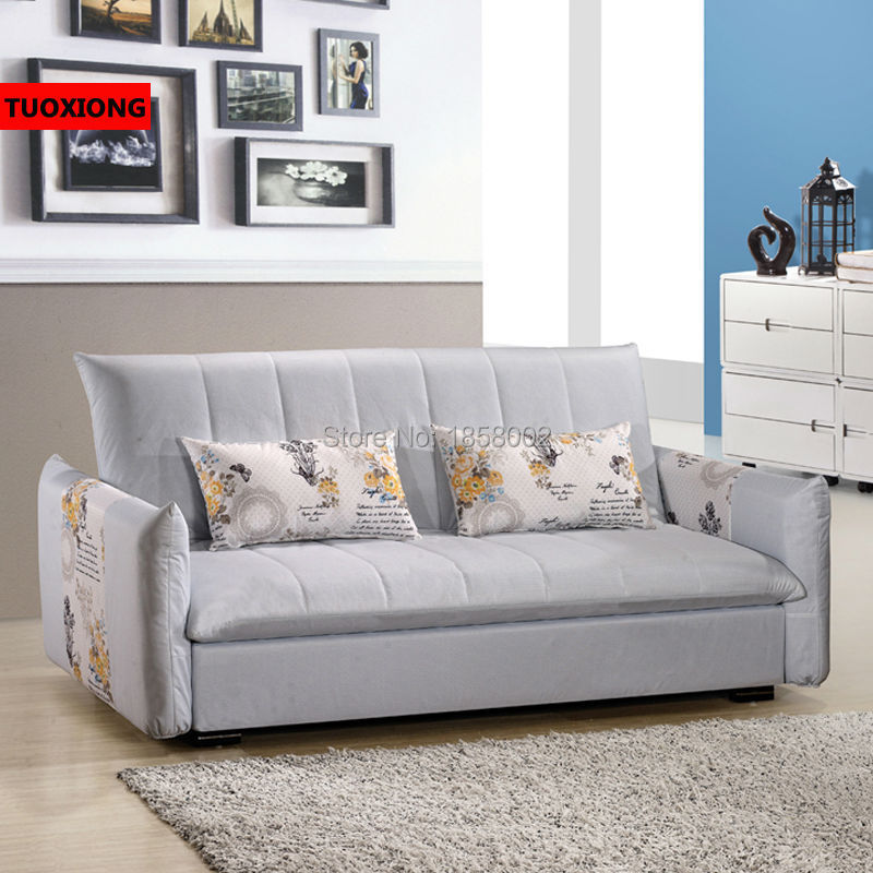 ... Living Room Sofa Furniture Fabric Divan Home Settee Functional Sofa Bed  Studio Couch Leisure Modern Chair ...