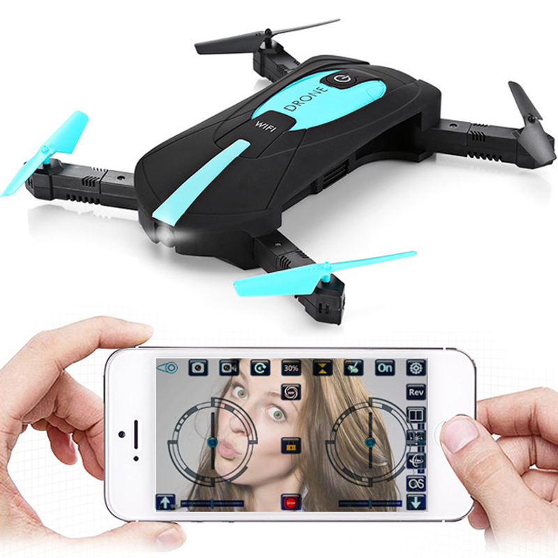 JY018 WiFi FPV Quadcopter Mini Foldable Selfie Drone RC Drones with 0.3MP/2MP Camera HD FPV JD018 720P RC Helicopte jy018 elfie wifi fpv quadcopter mini foldable selfie drone rc drones with 0 3mp 2mp camera hd fpv vs h37 720p rc helicopter