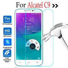 Для Alcatel One Touch POP C9 закаленное Стекло ЖК Экран Protector 2,5 9 h защитной пленкой на Onetouch C 9 7047 7047D 7047A(China)