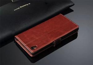 Image 3 - พรีเมี่ยมกระเป๋าสตางค์หนังสำหรับ Sony Xperia 5 10 Z1 Z2 Z3 Z4 Z5 Premium XA1 XZ XZ1 XZ2 XA2 c3 S39H ขนาดกะทัดรัด Ultra PLUS พลิกกรณี