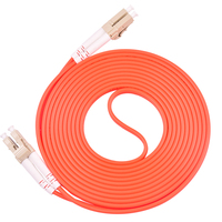 15 Meters LC LC Fiber Optic Cable MultiMode Duplex Patch Cord OM2 50/125