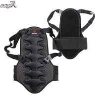 Balight Exercise Protect Removable Back Vest Protection Ski Body Armor Backpiece Back Protector Body Spine Armor 1 Pcs