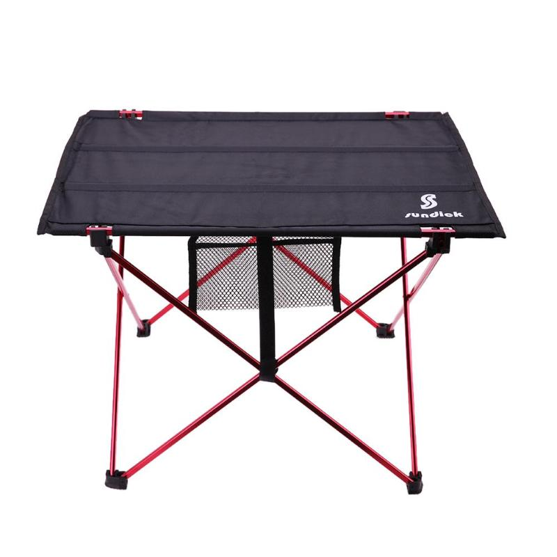 Outdoor Folding Table Ultra-light Aluminum Alloy Portable Camping Table Furniture Foldable Picnic Barbecue Desk Folding Table 70 70 69cm aluminum alloy folding table portable outdoor barbecue table camping table picnic desk