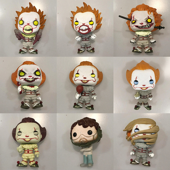 10pcs Original Funko pop IT Pennywise Spider Legs Severed Arm Balloon Wrought Iron Vinyl Figure Collectible Model Toy At Random