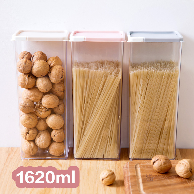 Kitchen Diorama Made Of Cereal Box: Noodle Storage Box With Cover At Home Plastic Large