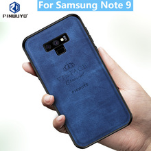 for Samsung Galaxy Note 9 Case Original PINWUYO VINTAGE PU Leather Protective Phone Case for Samsung Note 9 Shockproof Case retro protective pu leather case for samsung galaxy note 3 black
