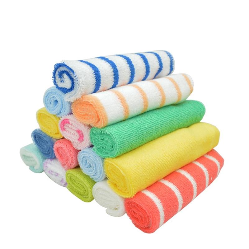 (8 Teile/los) Pflege Handtuch Lätzchen Taschentuch 20*20 Cm Cm Baby Trockenen Handtuch Yyt195
