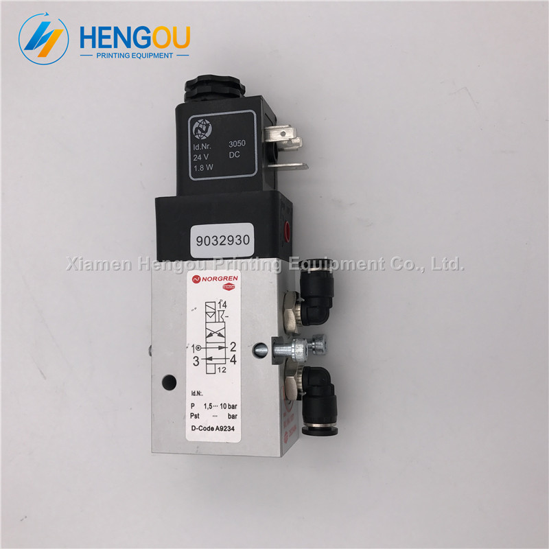 2 PCS Free Shipping Hengoucn Valve for SM102 CD102 Machine 98.184.1051 26254842 PCS Free Shipping Hengoucn Valve for SM102 CD102 Machine 98.184.1051 2625484