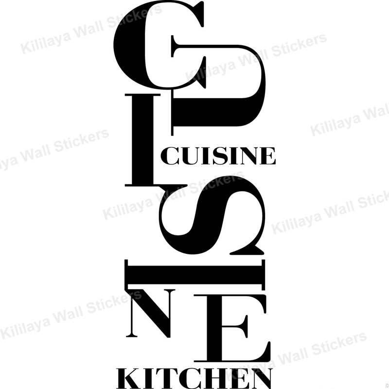 cheap french cuisine stickers vinyl wall decals wallpaper mural on the wall paper art kitchen. Black Bedroom Furniture Sets. Home Design Ideas
