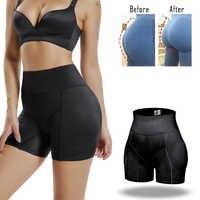 Miss Molibdeno Invisibile Butt Lifter Booty Enhancer Imbottito Boxer elasticizzati Dello Shaper Del Corpo Imbottitura Panty Push Up Shapewear Hip Modellazione