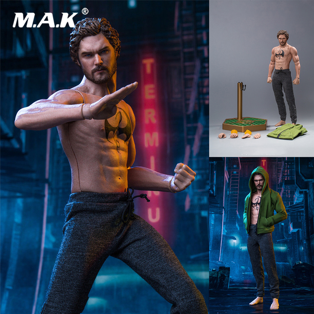 1/6 Scale Collectible Full Set SST-008 Iron Fist Danny Rand Movie Series Figure Model for Fans Collection Gift for collection 1 6 full set series of empires japan s date masamune deluxe figure model se009 warring states model for fans gift