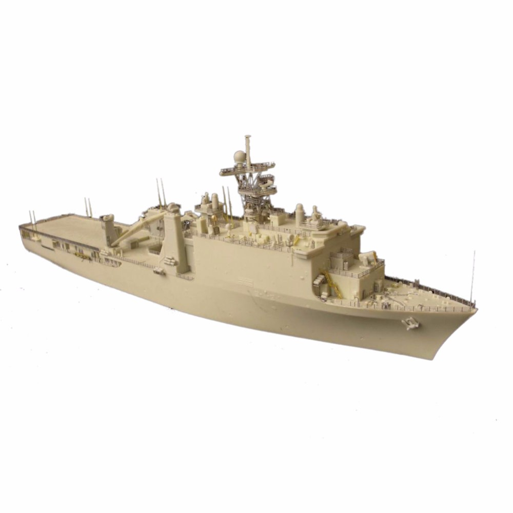 OHS Orange Hobby N07090398 1/700 USS Whidbey Island LSD41 landing ship Assembly Scale Military Ship Model Building Kits oh