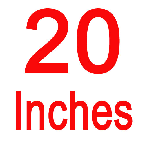 20 inches