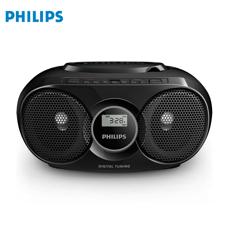 CD-soundmachine Philips AZ 318 home audio home audio fx audio d802 remote control usb optical coaxial input hifi home audio pure digital amplifier 24bit 192khz without power adapter