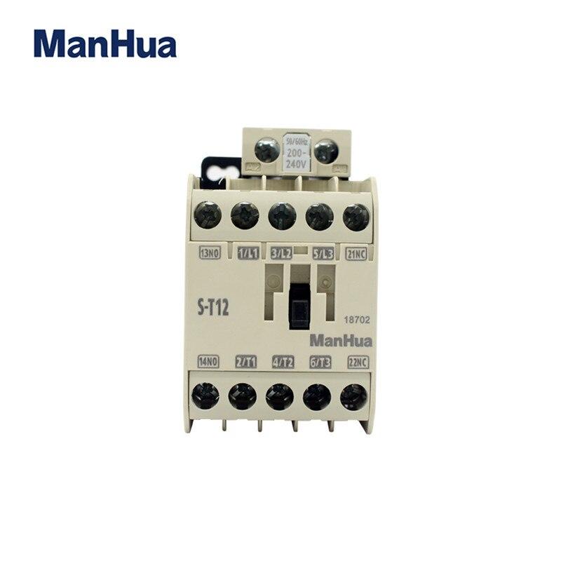 Manhua 220 v Elettrico Contattore Magnetico Per Ascensore S-T12 Contattore di CA