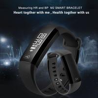 M2 IP67 Waterproof Sports Smart Bracelet Heart Rate Monitor Bluetooth 4 0 WristBand