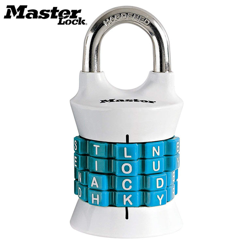 Master Lock Digit Kombination Passwort Schloss Zink-legierung Sicherheit Lock Koffer Gepäck Codiert Lock Schrank Schrank Locker Vorhängeschloss