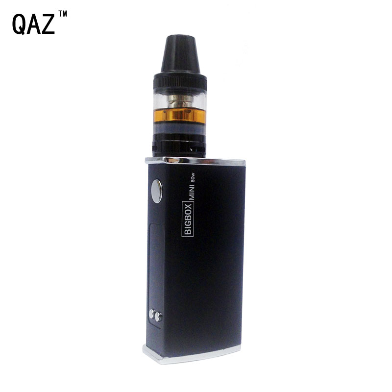 80W E Cigarette 2200mAh Build-in- battery lLED Tank Electronic Cigarette Vape Mod Box Vaporizer Hookah Vaper