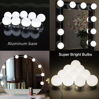 TS ML03A Super bright max 20W High Quality led vanity light aluminum Vanity mirror lights with Dimmer and Power adapter