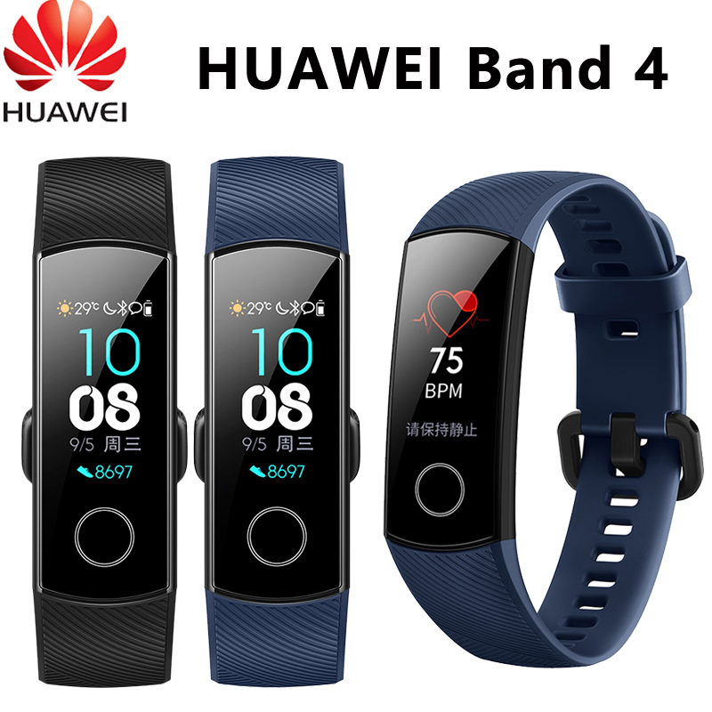 Original Huawei Honor Band 4 Smart Wristband 0 95 Touch Screen Swim Posture Detect Heart Rate