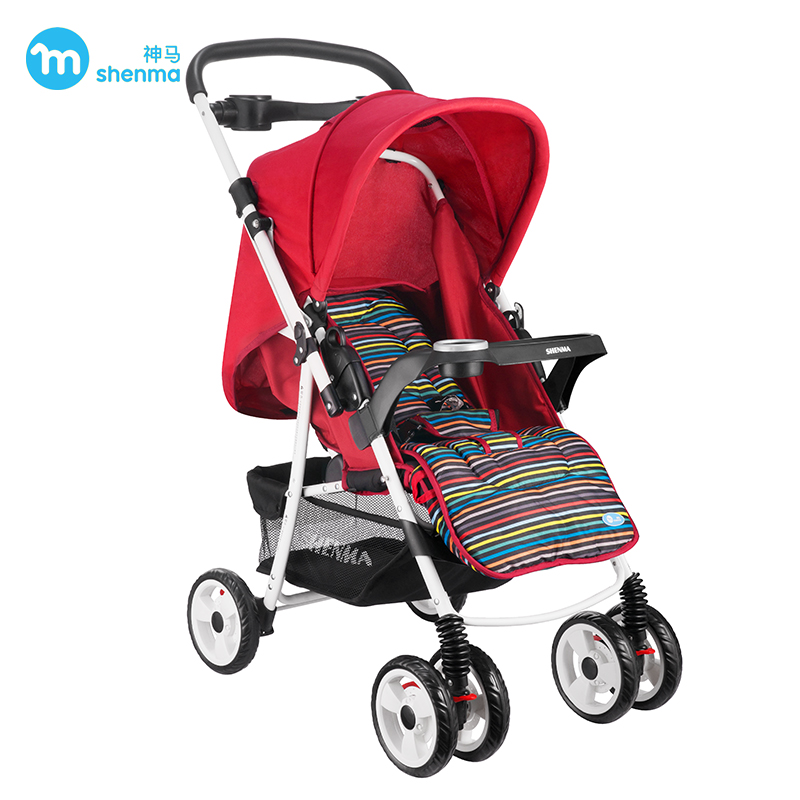 Multi-function Baby pram Can Lie and Sit Fold Shockproof Two-way Baby stroller sometimes i lie