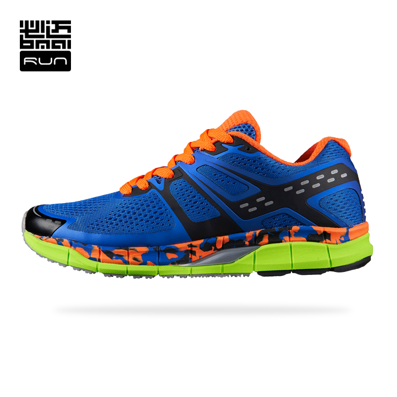 BMAI Man Cushioning Running Shoes Skid-proof zapatos de hombre Woman Athletic Outdoor Sport Sneakers#Lovers kelme 2016 new children sport running shoes football boots synthetic leather broken nail kids skid wearable shoes breathable 49