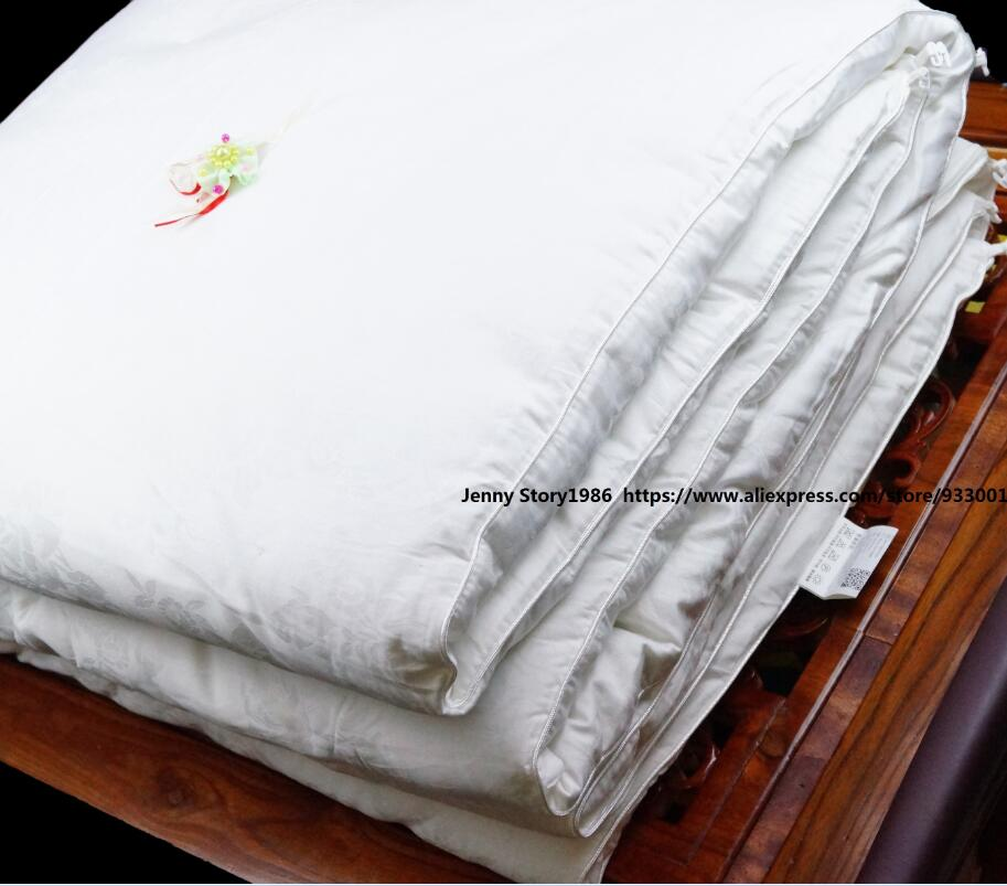 Excellent silk quilt 10 year quality Mulberry silk filler Perfect skin Fabric household Hotel quality Royal quality life