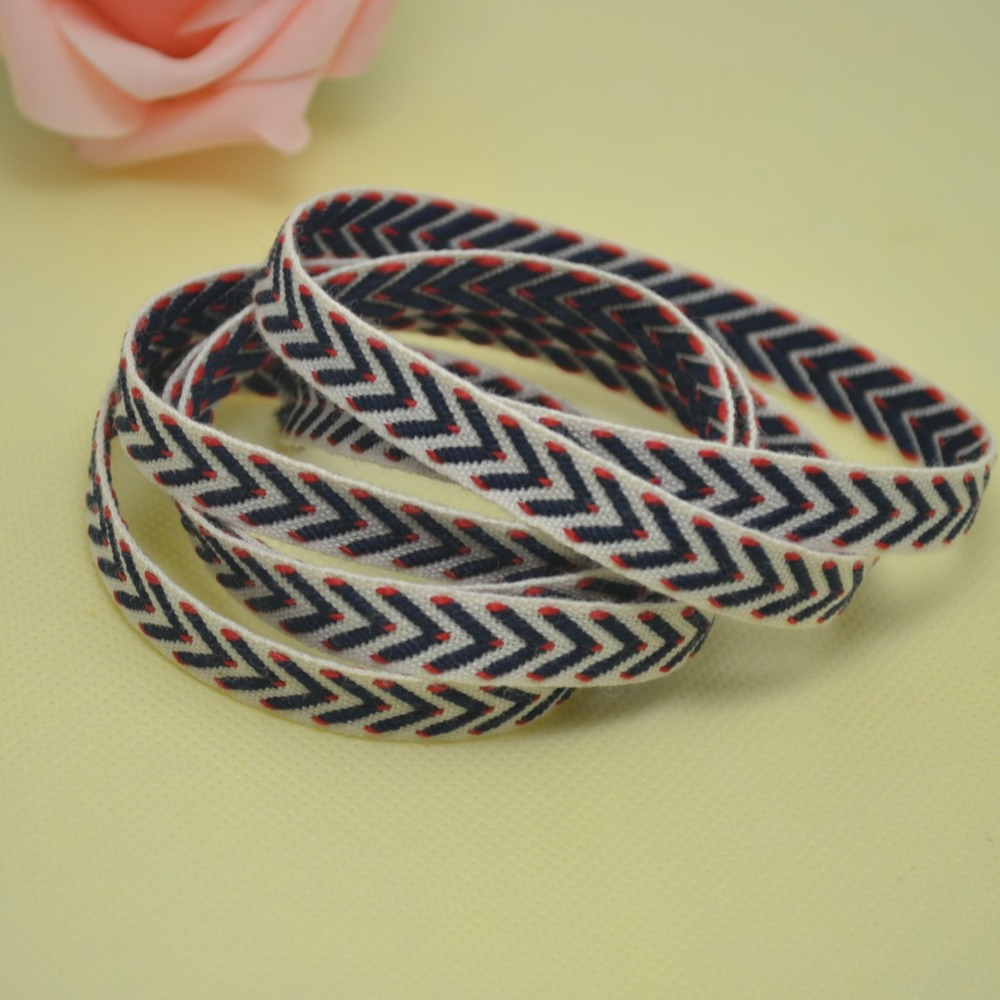 Free Shipping 10mm Wide 100yard Roll Polyester Cotton Diy Eliminate Guages Headlight Signal Harness Switch 600rrnet Herringbone Tape Twill Ribbon Packaging Webbing Binding