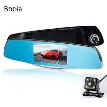 Car Dvr Camera 1080P 4.3 Inch Screen  Car Camera Mirror with Rearview Dual Lens video Recorder Car DVRs Dash cam