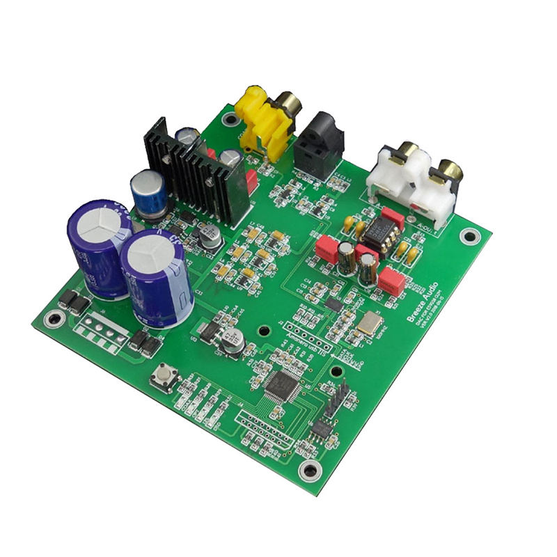 Es9038Q2M I2S Dsd Fiber Coaxial Input Decoder Board Dac Audio Finished Board