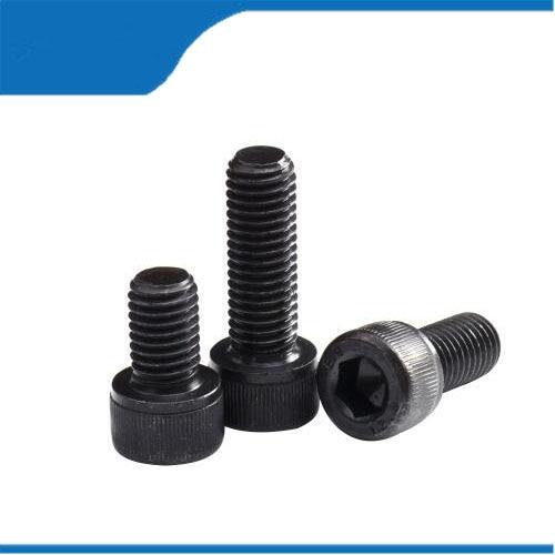 m2 screw 50pcs M1.6 M2 M2.5 M3 DIN912 Black High-strength 12.9 Level Alloy Steel Screw Hexagon Socket Head Cap Screws 50pcs iso7380 m2 m2 5 m3 a2 stainless steel hex socket button head screw screws
