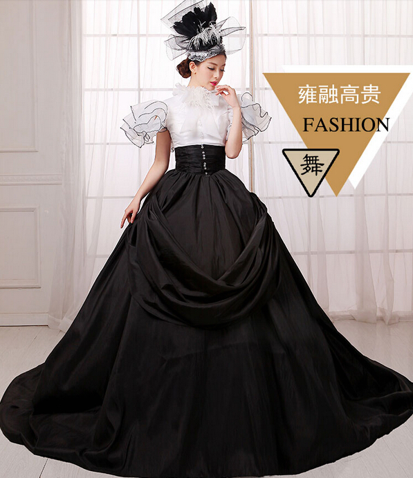Halloween costumes for women Queen Elizabeth Cosplay edwardian dress medieval costume for women ...