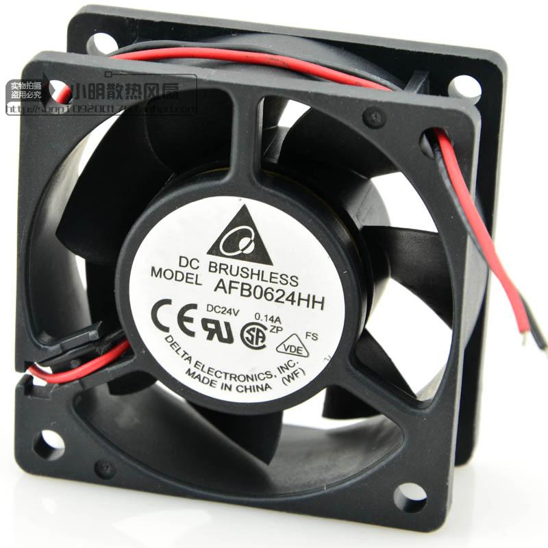 Free Delivery. 6025 AFB0624HH 24 v 0.14 A 3 line ball cooling <font><b>fan</b></font> <font><b>60</b></font> * <font><b>60</b></font> * 25 <font><b>mm</b></font> image