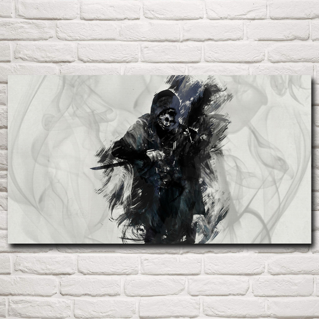 Artwork Dishonored Video Game Art Silk Fabric Poster Prints Home Wall Decor Painting 11×20 16×29 20×36 Inches Free Shipping
