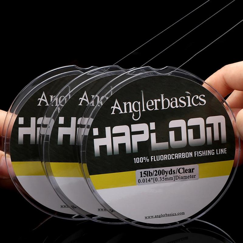 Anglerbasics 100% Fluorocarbon Angelschnur 200yds / 182M Fliegen- - Angeln - Foto 6