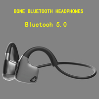 Original headphones Bluetooth 5.0 Bone Conduction Headsets Wireless Sports earphones Handsfree Headsets Support Drop Shipping