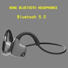 Original headphones Bluetooth 5.0 Bone Conduction Headsets Wireless Sports earphones