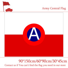 Free shipping Army Central North Flag 3x5ft Flying 90*150cm 60*90cm 30*45cm Car For Home Decoration