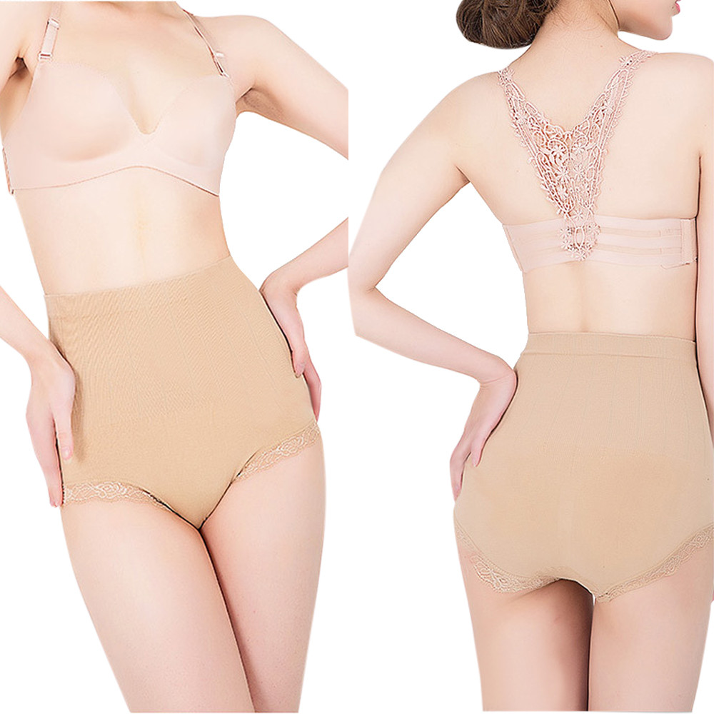 panties women cotton Women Body Shaper Waist Function Garment Model Underwear seamless panties women sexy women's panties #8