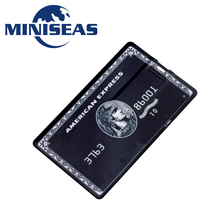 Miniseas USB Flash Drive Bank Credit Card 4GB 8GB 16GB 32GB Pen drive Pendrive External Storage Usb Memory Stick Flash Drive