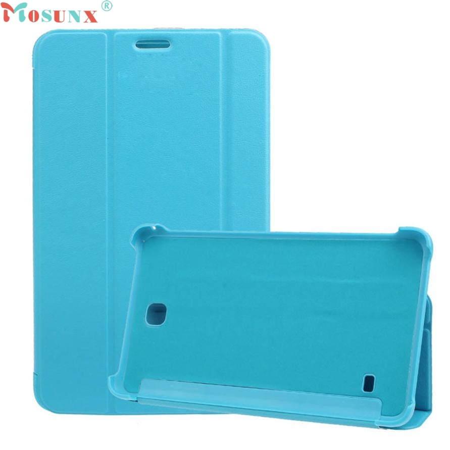 Mosunx SimpleStone Leather Case Stand Cover For Samsung Galaxy Tab 4 7Inch Tablet SM-T230 60304 аксессуар чехол samsung galaxy tab a 7 sm t285 sm t280 it baggage мультистенд black itssgta74 1