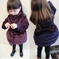 A children's clothing on behalf of the 2016 winter New Girl Korean bow in the long thick cotton SY545